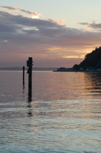 Scatchet Sunset - from Twelve Months at Cultus Bay