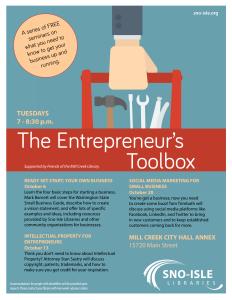 Entrepreneurs Toolbox