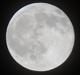 A previous full moon. Can't you tell?