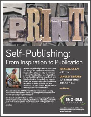 Self publishing 2018