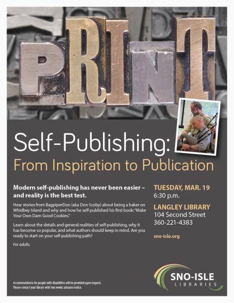 47736 Self Publishing LNG POSTER